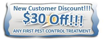 Pest Control Cost Morris County, NJ - Coupon